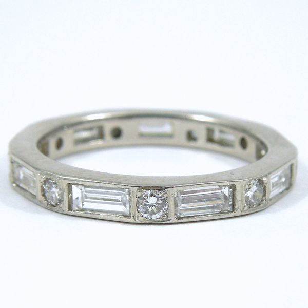 Eternity Diamond Wedding Band Joint Venture Jewelry Cary, NC