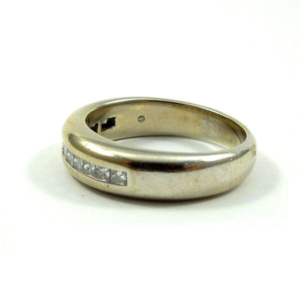 Channel Set Wedding Band Image 2 Joint Venture Jewelry Cary, NC