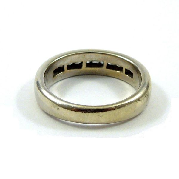 Channel Set Wedding Band Image 3 Joint Venture Jewelry Cary, NC
