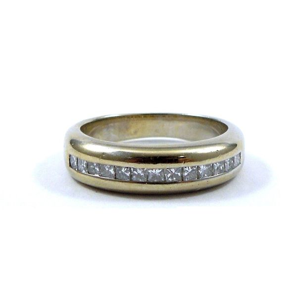Channel Set Wedding Band Joint Venture Jewelry Cary, NC