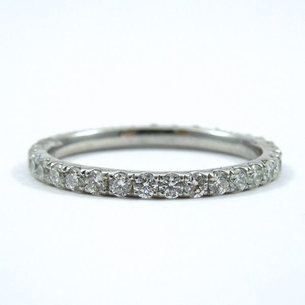 Platinum Diamond Eternity Wedding Band Joint Venture Jewelry Cary, NC
