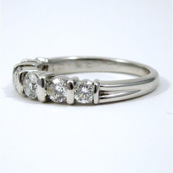Diamond Wedding Band Image 2 Joint Venture Jewelry Cary, NC