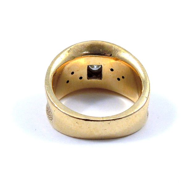 Vintage Diamond Band Ring Image 3 Joint Venture Jewelry Cary, NC