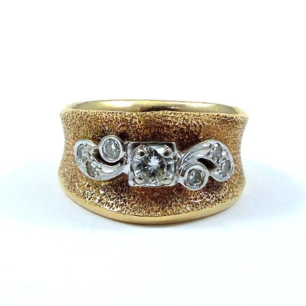 Vintage Diamond Band Ring Joint Venture Jewelry Cary, NC