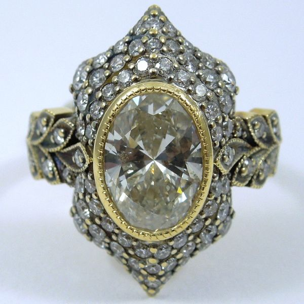 Oval Cut Diamond Engagement Ring Joint Venture Jewelry Cary, NC