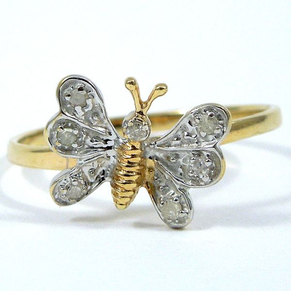 Diamond Butterfly Ring Joint Venture Jewelry Cary, NC