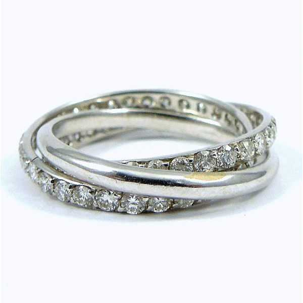 Three Piece Rolling Bands Joint Venture Jewelry Cary, NC