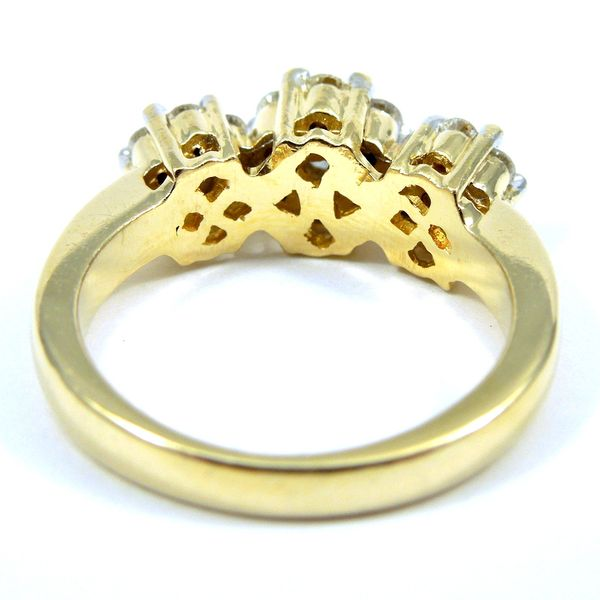 Diamond Cluster Ring Image 2 Joint Venture Jewelry Cary, NC