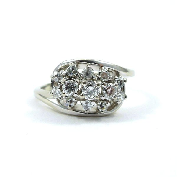 Diamond Bypass Ring Joint Venture Jewelry Cary, NC