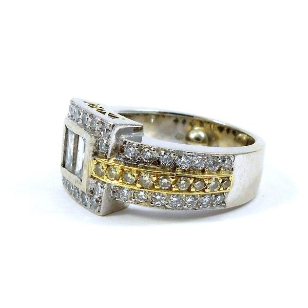 Baguette Cut Diamond Ring Image 2 Joint Venture Jewelry Cary, NC