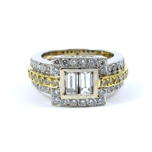 Baguette Cut Diamond Ring Joint Venture Jewelry Cary, NC