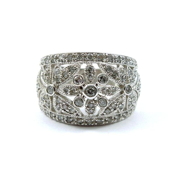 Wide Diamond Fashion Band Joint Venture Jewelry Cary, NC