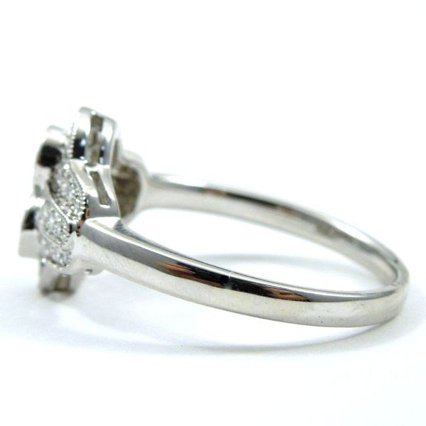 Antique Style Diamond Fashion Ring Image 2 Joint Venture Jewelry Cary, NC