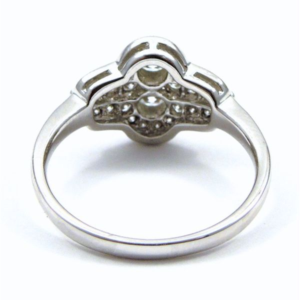 Antique Style Diamond Fashion Ring Image 3 Joint Venture Jewelry Cary, NC
