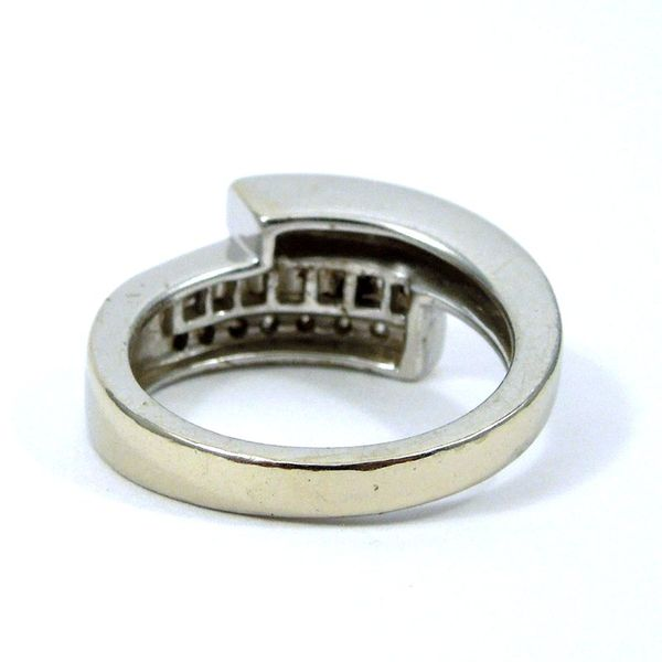 Diamond Bypass Band Ring Image 3 Joint Venture Jewelry Cary, NC