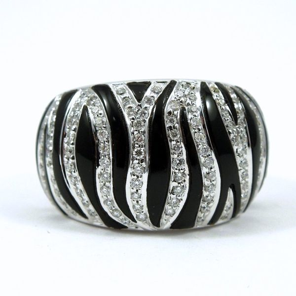 Roberto Coin Onyx and Diamond Ring Joint Venture Jewelry Cary, NC