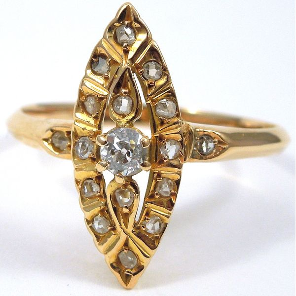 Vintage Diamond Fashion Ring Joint Venture Jewelry Cary, NC