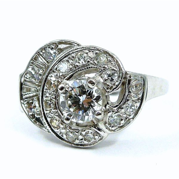 1930s Antique Diamond Ring Joint Venture Jewelry Cary, NC