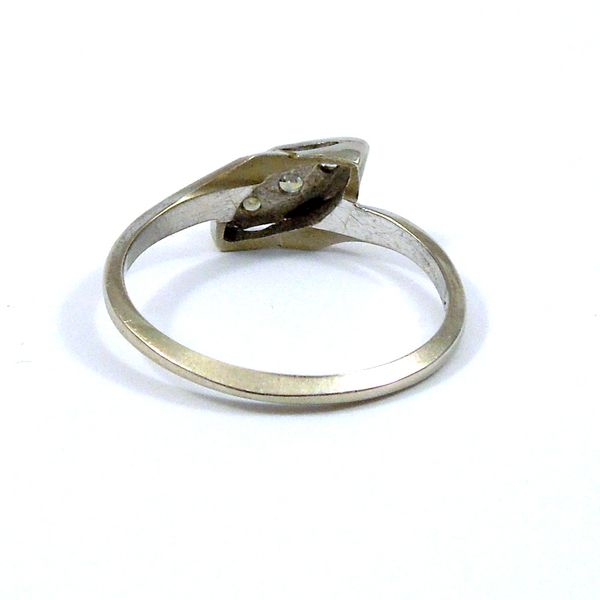 Vintage Diamond Bypass Ring Image 3 Joint Venture Jewelry Cary, NC