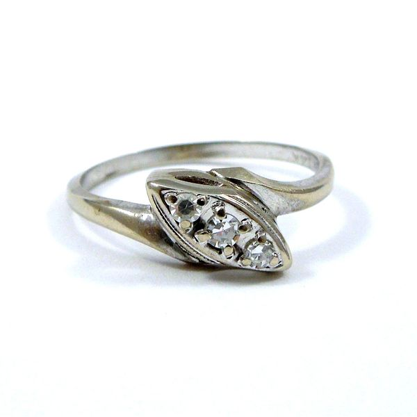 Vintage Diamond Bypass Ring Joint Venture Jewelry Cary, NC