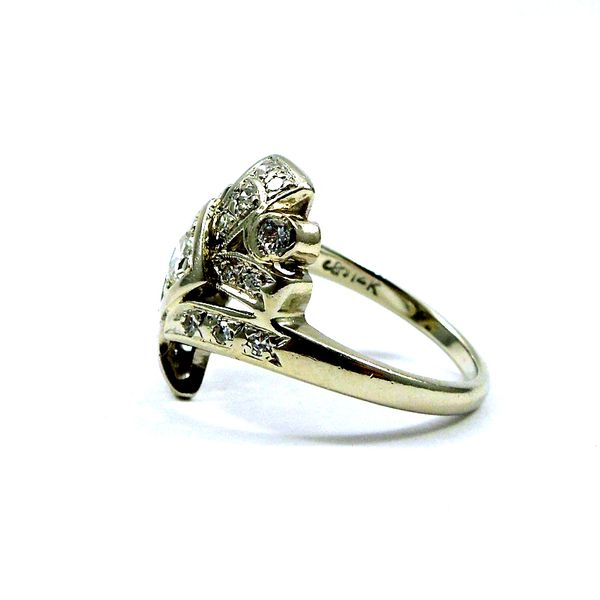 Vintage Transition Cut Diamond Fashion Ring Image 2 Joint Venture Jewelry Cary, NC
