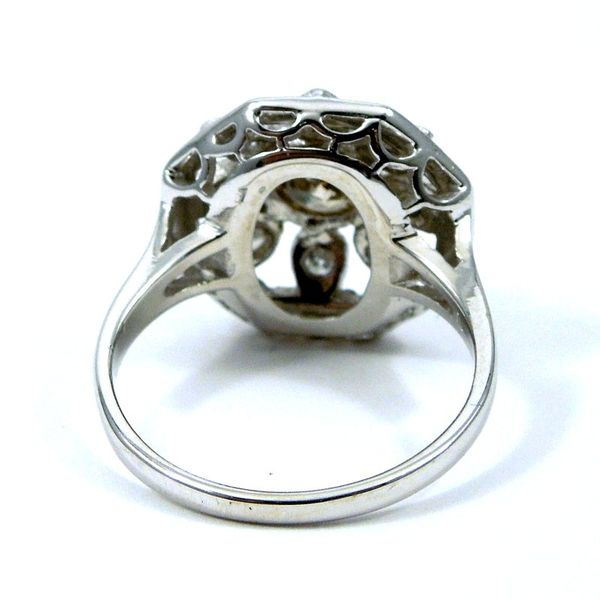 Vintage Fancy Champagne Diamond Ring Image 3 Joint Venture Jewelry Cary, NC