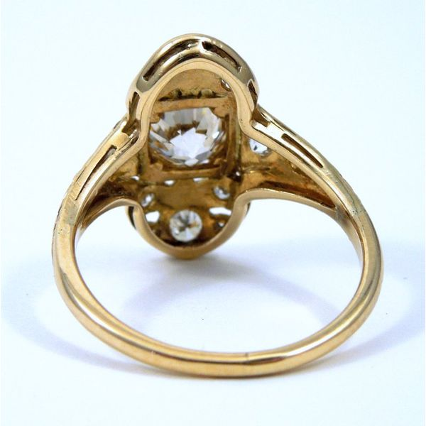 Vintage Diamond Filigree Ring Image 3 Joint Venture Jewelry Cary, NC