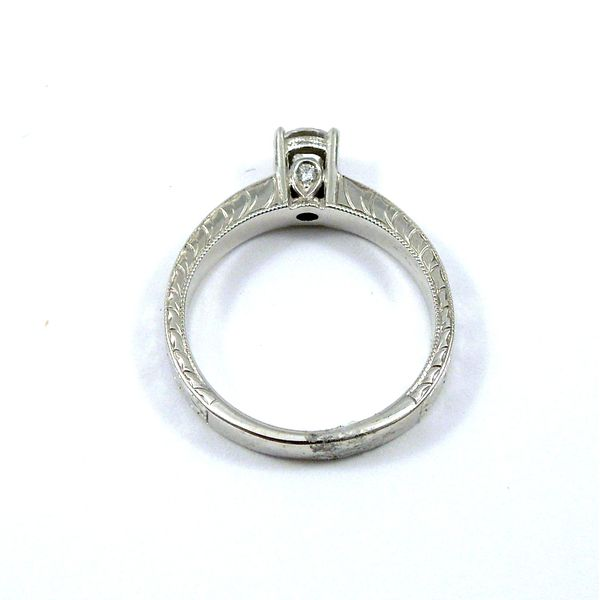Diamond Semi-Miount Ring Image 3 Joint Venture Jewelry Cary, NC
