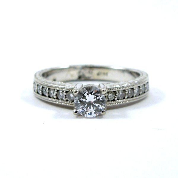 Diamond Semi-Miount Ring Joint Venture Jewelry Cary, NC