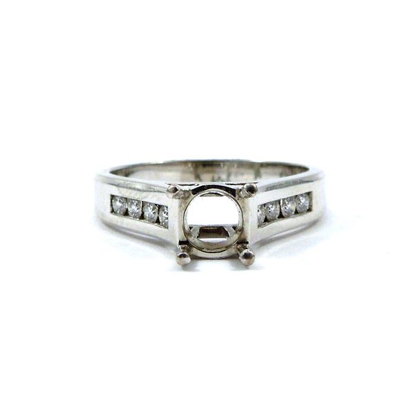 Diamond Semi-Mount Ring Joint Venture Jewelry Cary, NC