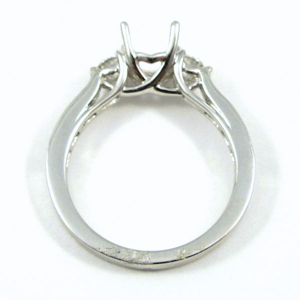 Diamond Semi-Mount Ring Image 2 Joint Venture Jewelry Cary, NC