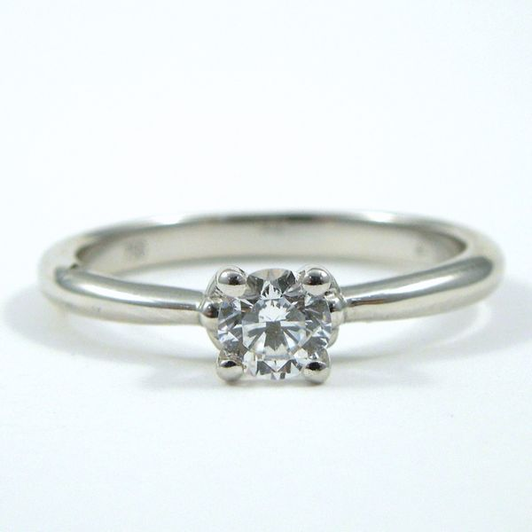 Low Profile Semi-Mount Ring Joint Venture Jewelry Cary, NC