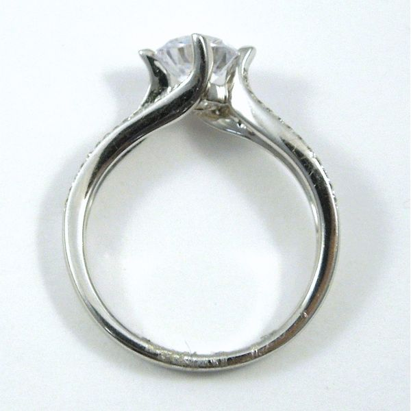 Three Rowed Diamond Semi-Mount Ring Image 2 Joint Venture Jewelry Cary, NC