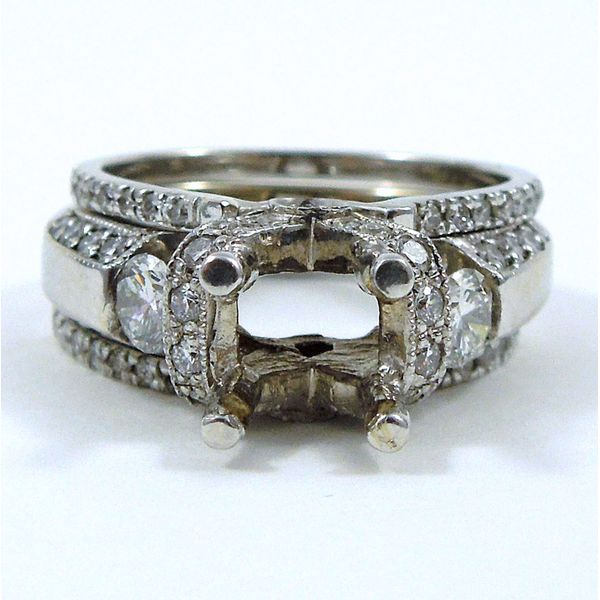 Diamond Engagement Semi-Mount Set Image 2 Joint Venture Jewelry Cary, NC