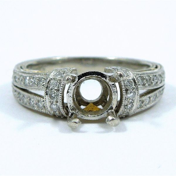 Engagement Ring Semi-Mount Joint Venture Jewelry Cary, NC