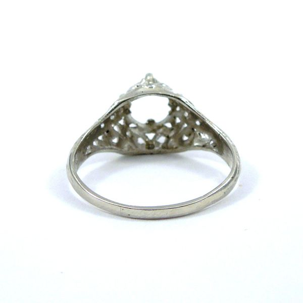 Vintage Semi-Mount Ring Image 3 Joint Venture Jewelry Cary, NC