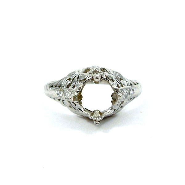 Vintage Semi-Mount Ring Joint Venture Jewelry Cary, NC