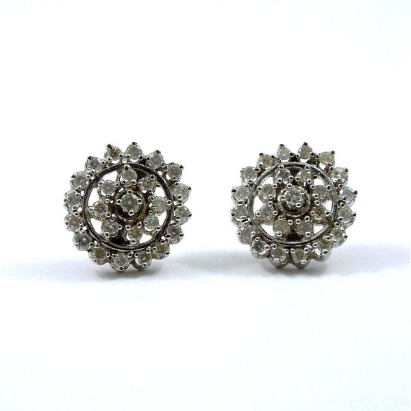 Diamond Earrings Joint Venture Jewelry Cary, NC
