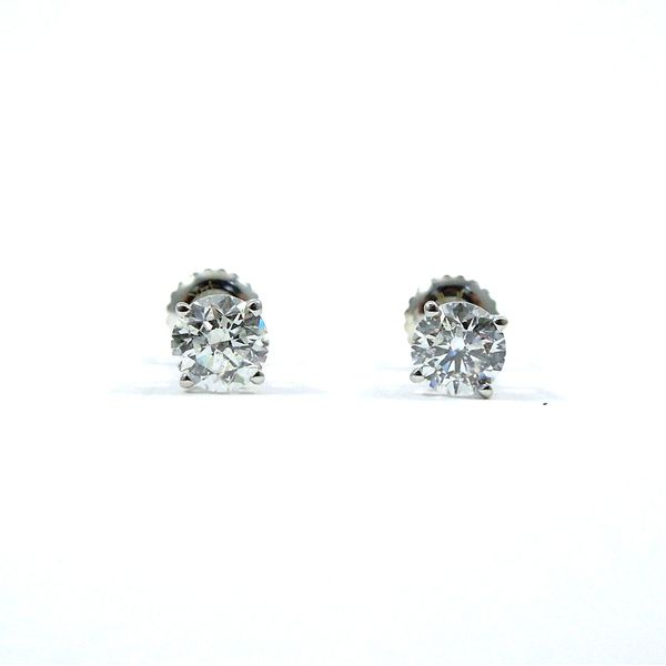 Diamond Stud Earrings Joint Venture Jewelry Cary, NC