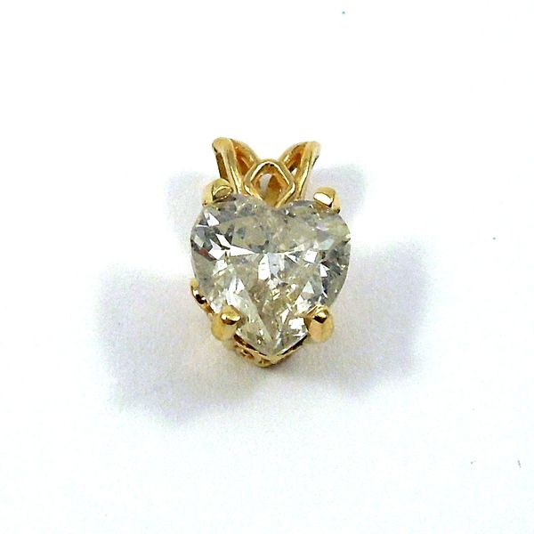 Diamond Heart Pendant Joint Venture Jewelry Cary, NC