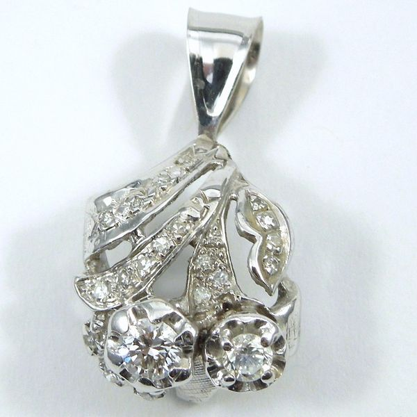 Vintage Diamond Pendant Joint Venture Jewelry Cary, NC