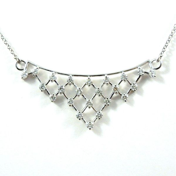 Diamond Crown Necklace Joint Venture Jewelry Cary, NC