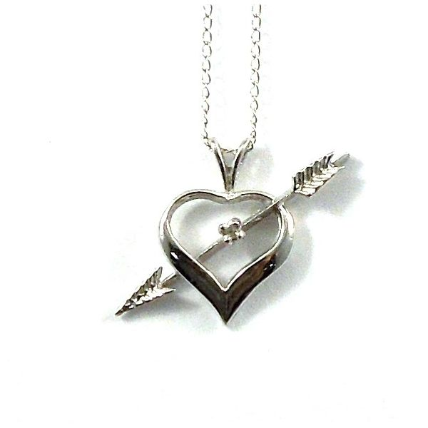 Heart and Arrow Pendant Joint Venture Jewelry Cary, NC