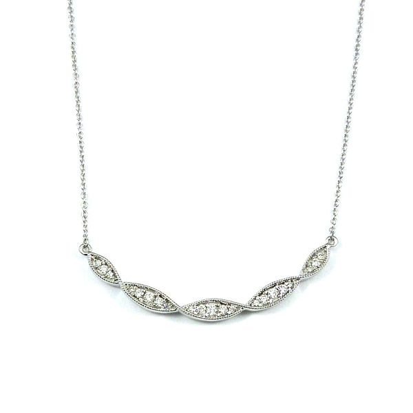 Five Station Diamond Necklace Joint Venture Jewelry Cary, NC