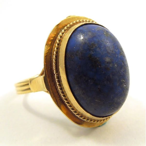 Lapis Ring Joint Venture Jewelry Cary, NC