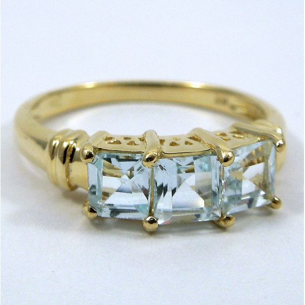 Blue Topaz Ring Joint Venture Jewelry Cary, NC