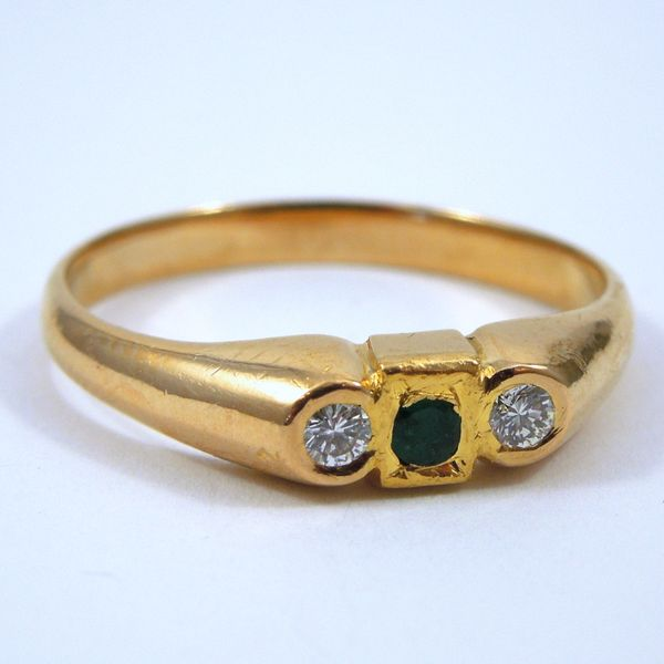 Emerald & Diamond Ring Joint Venture Jewelry Cary, NC