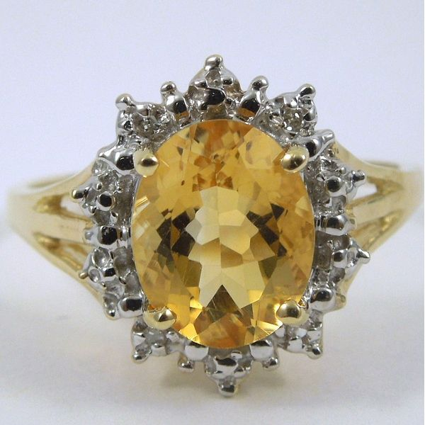 Citrine Ring Joint Venture Jewelry Cary, NC