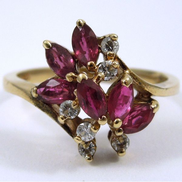Ruby & Diamond Ring Joint Venture Jewelry Cary, NC