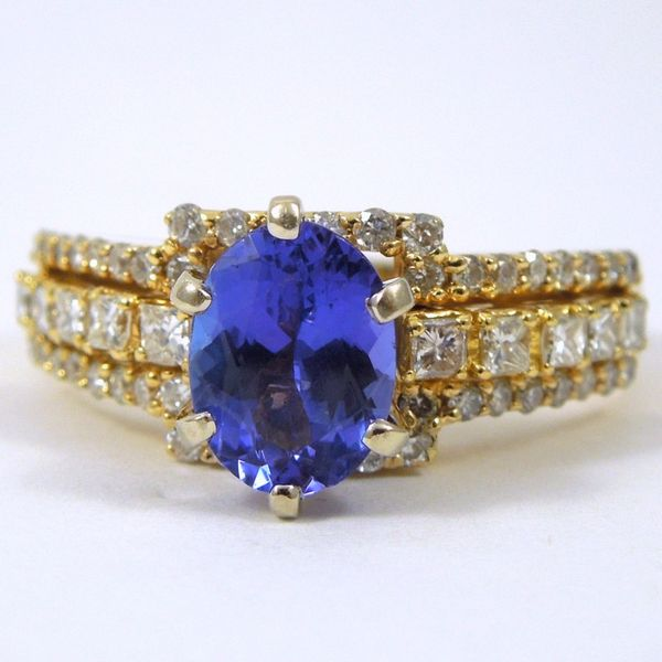 Tanzanite & Diamond Ring Joint Venture Jewelry Cary, NC